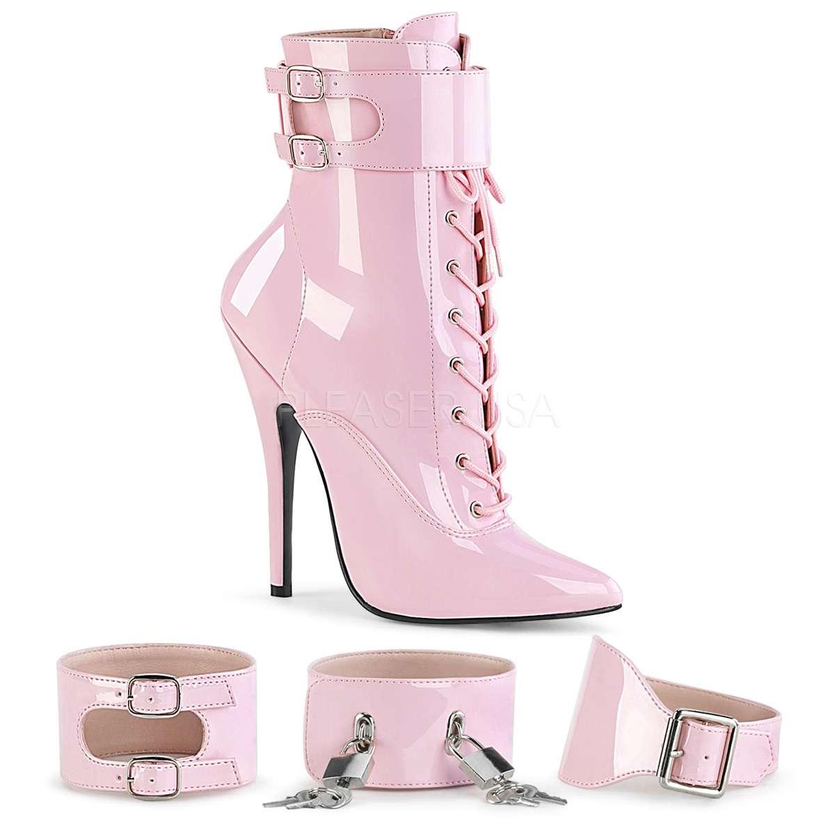 1023 Heels High Pink Domina Stiefelette Baby WED9H2I